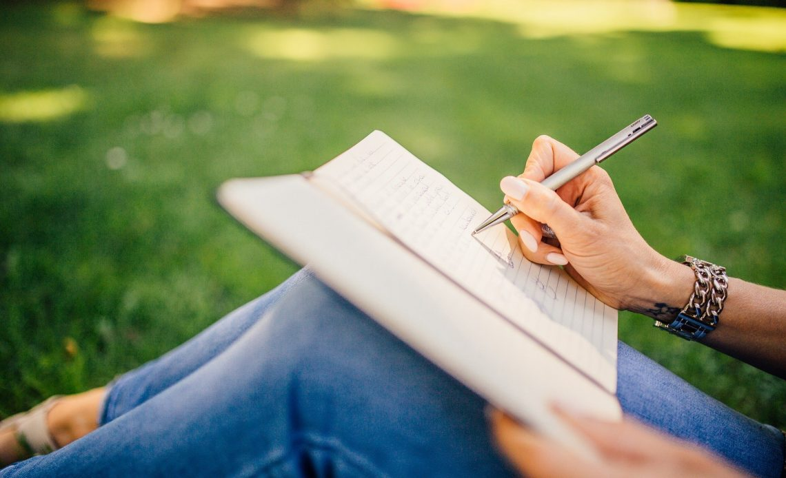 Writing Writer Notes Pen Notebook Book Girl